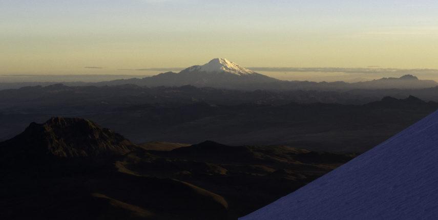 Cayambe Climbs 5790 m