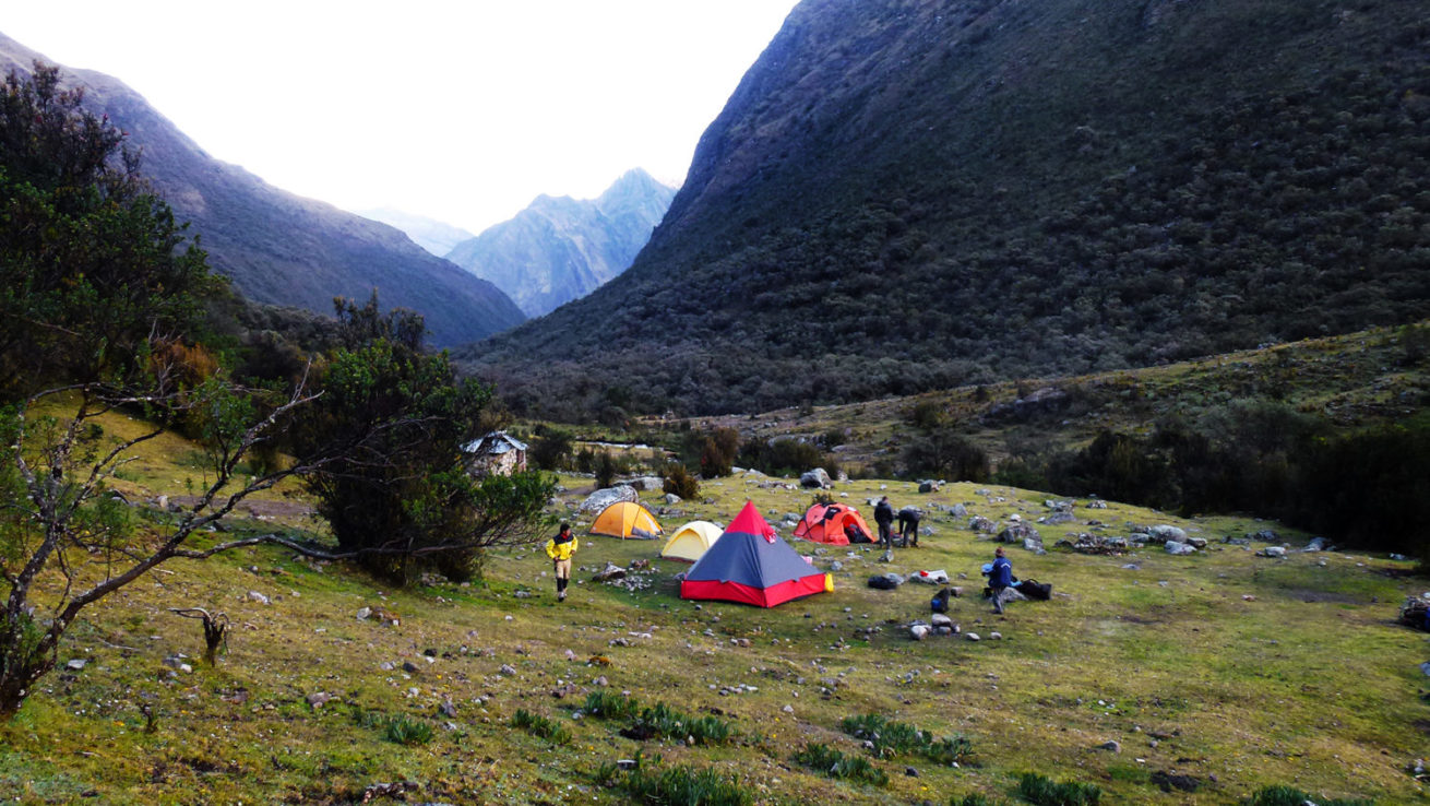 8-day Climbing trip to the Cordillera Blanca in Peru to Hike
