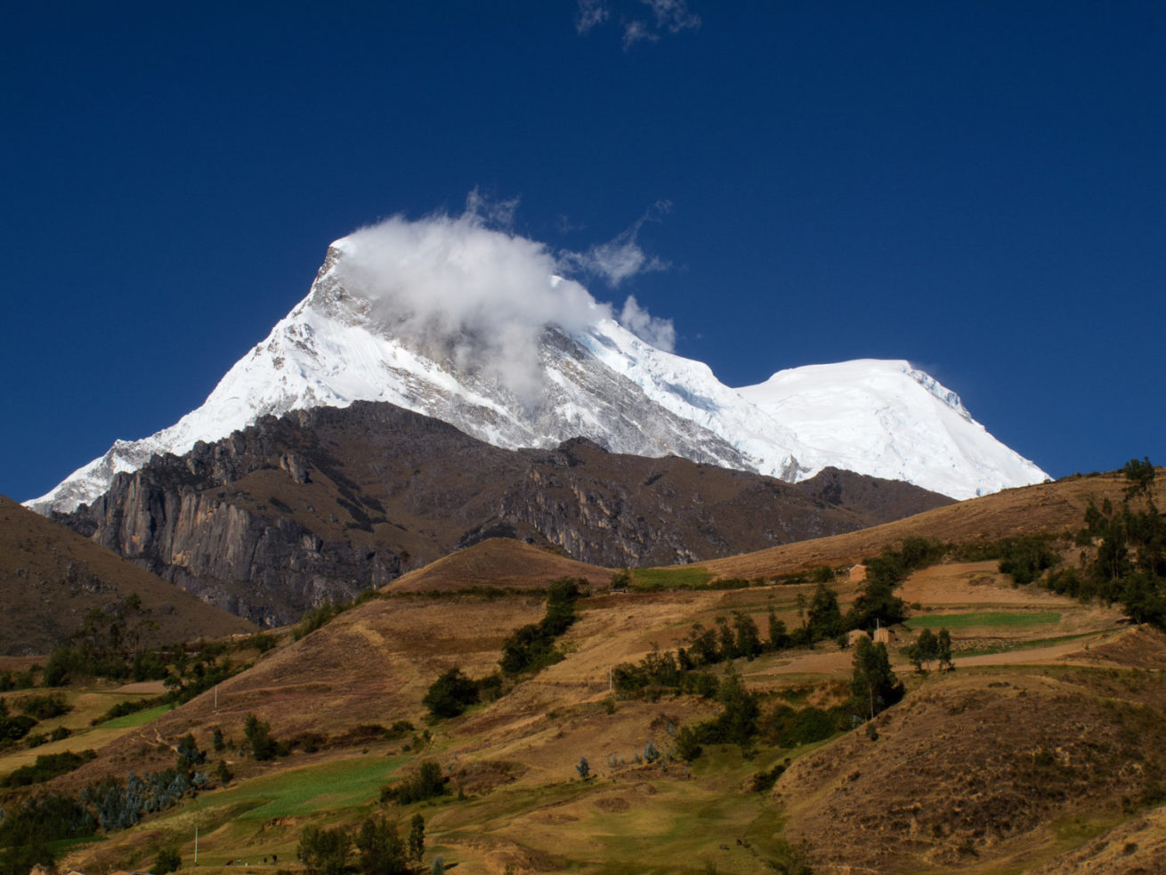 Climbing Tour to Cordillera Blanca in Peru to climb Huascaran peak