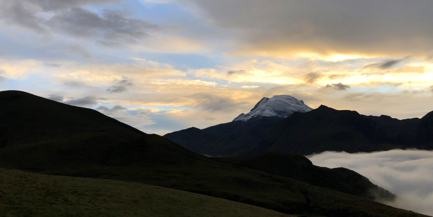 Colombia's Snowcapped Volcanoes