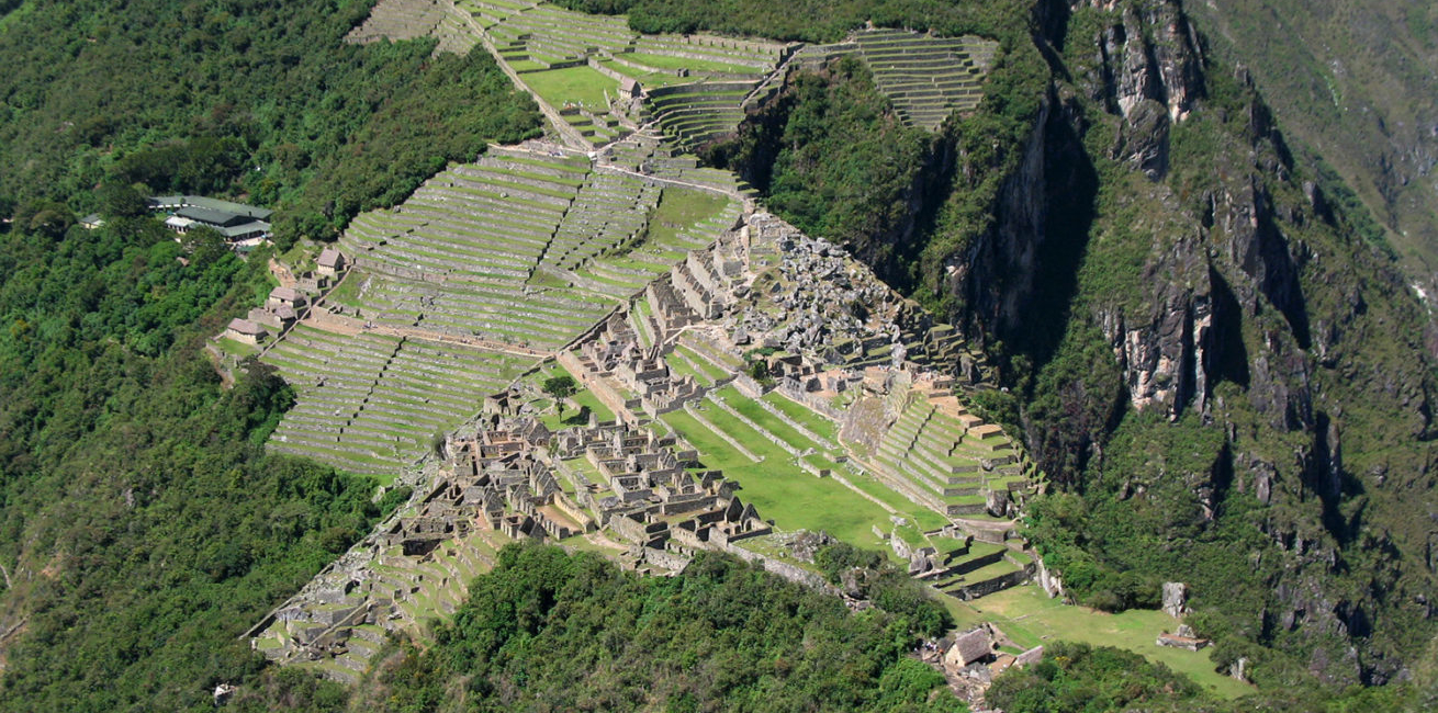 Machu Picchu's panoramic view from Huayna Picchu mountain (photo: Juan Carlos Gonzalez)