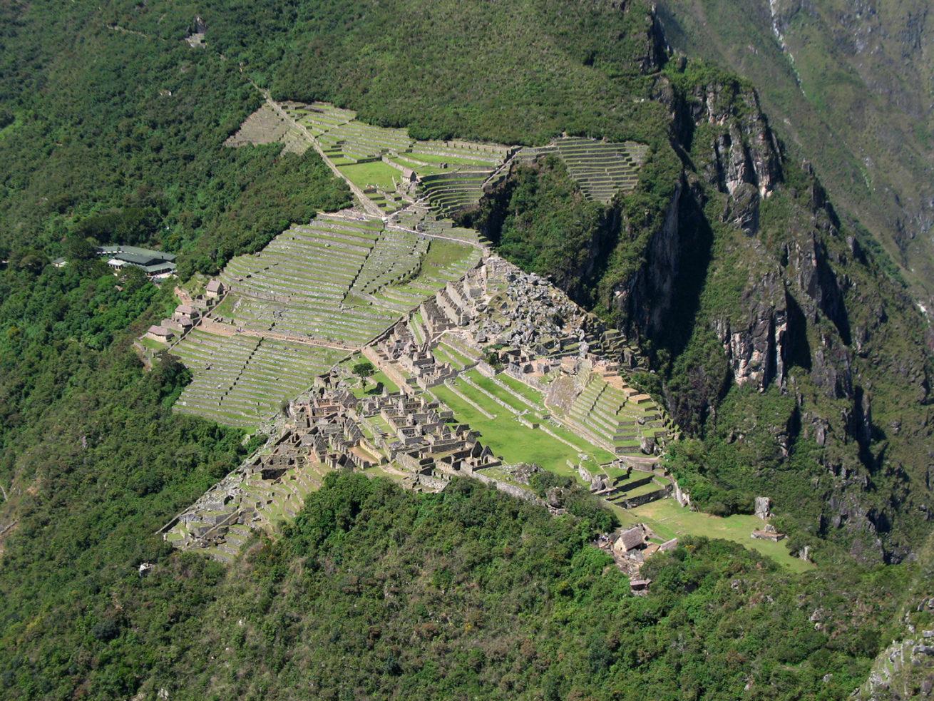Machu Picchu's panoramic view from Huayna Picchu mountain (photo: Juan Carlos Gonzalez)